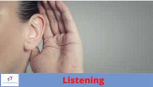 escucha